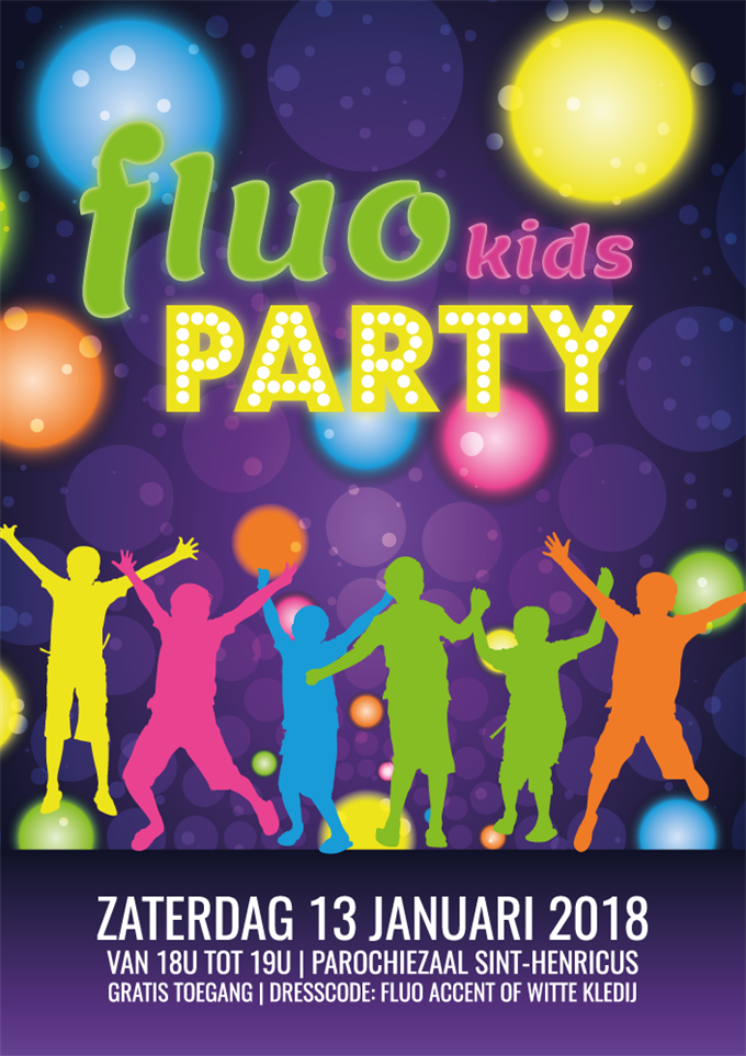 Fluo kids party